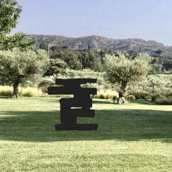 Silhouette acier Silhouette métal Sculpture fer